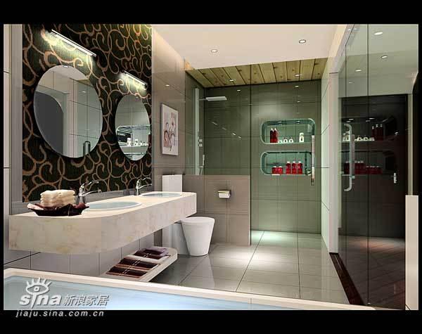 简约 三居 卫生间图片来自用户2738845145在室内设计26的分享