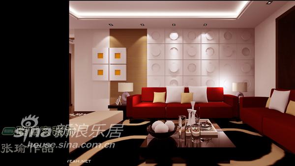 简约 三居 客厅图片来自用户2558728947在【大港福绣园】133平米户型设计案例43的分享