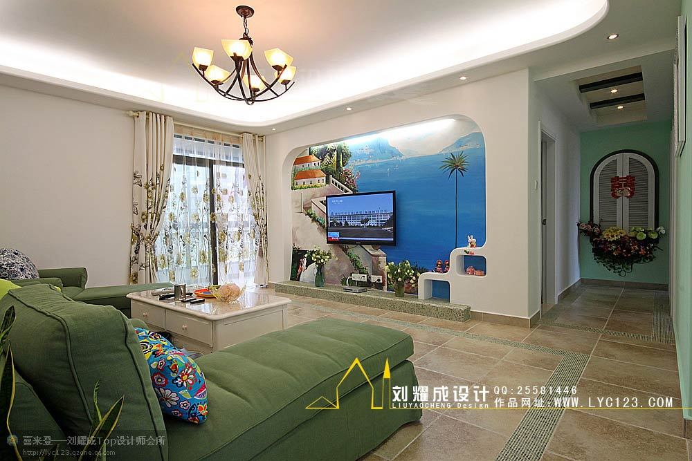 田园 三居 客厅图片来自用户2557006183在【高清】20万打造135平心的假期80的分享