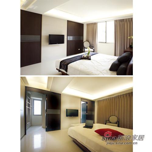 简约 四居 卧室图片来自用户2738845145在简约不失大气之家34的分享
