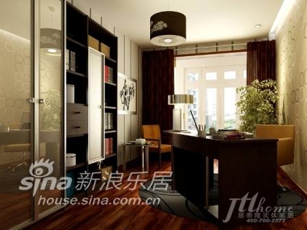 简约 三居 书房图片来自用户2556216825在时尚高雅的完美生活家居装饰44的分享