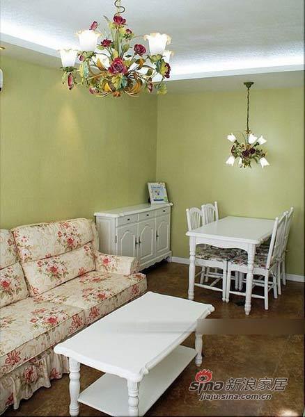 田园 二居 餐厅图片来自用户2737791853在6万软装90平田园清新小窝81的分享