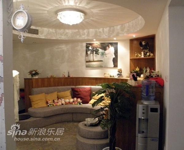 圆客厅设计