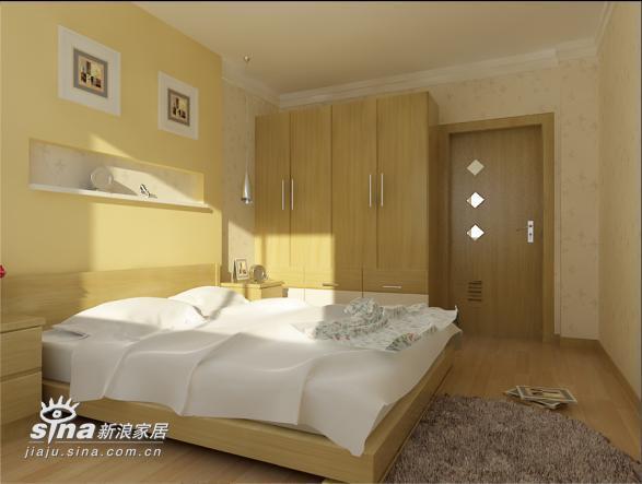简约 二居 卧室图片来自用户2738813661在实创装饰沸城设计案例11的分享