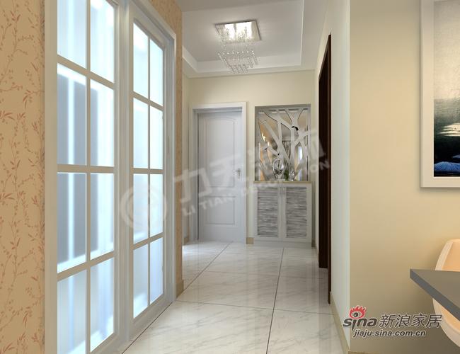 简约 二居 玄关图片来自阳光力天装饰在远洋风景-2室2厅1卫-现代简约85的分享