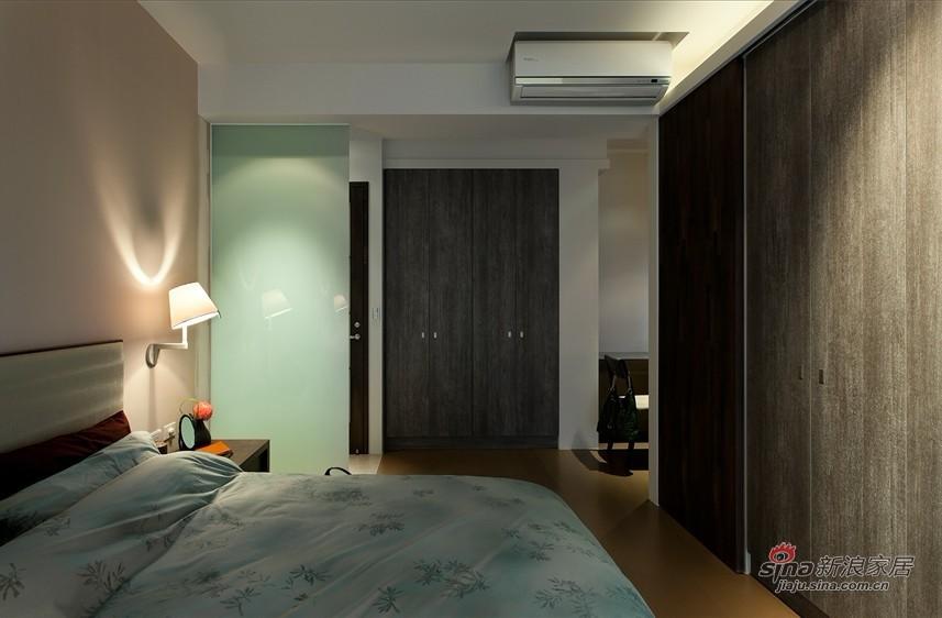 简约 三居 卧室图片来自用户2739378857在6万打造120平简约实用3居15的分享