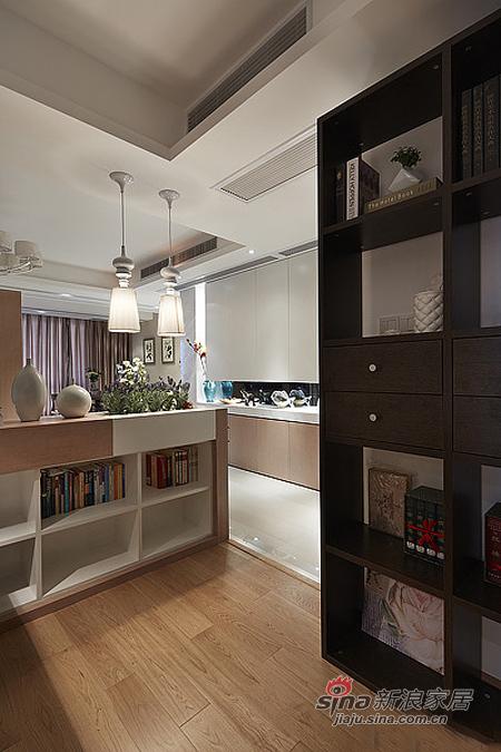 现代 二居 书房图片来自佰辰生活装饰在15万营造86平时尚简约婚房78的分享
