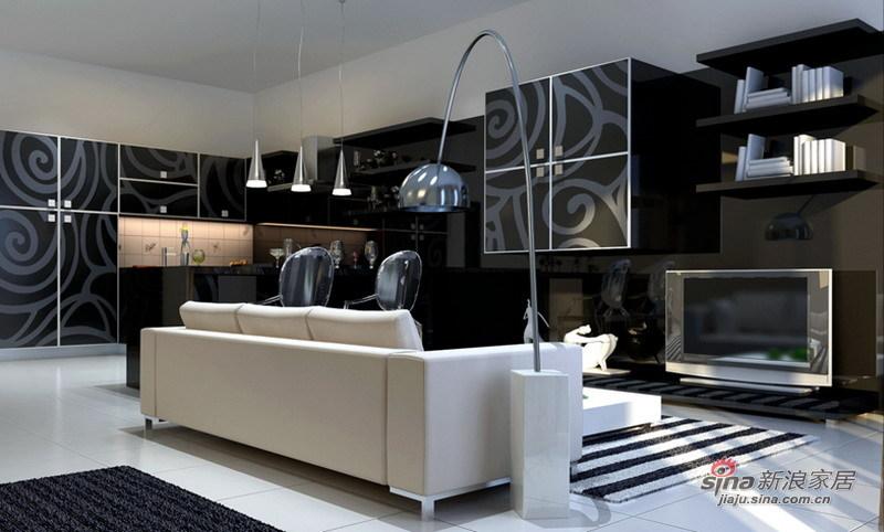 简约 三居 客厅图片来自用户2738845145在12万打造160㎡大气3居室88的分享