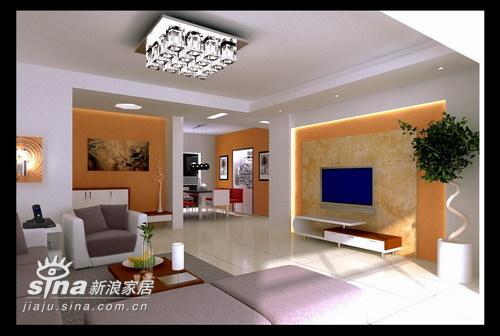 简约 三居 客厅图片来自用户2738845145在华府天地21的分享