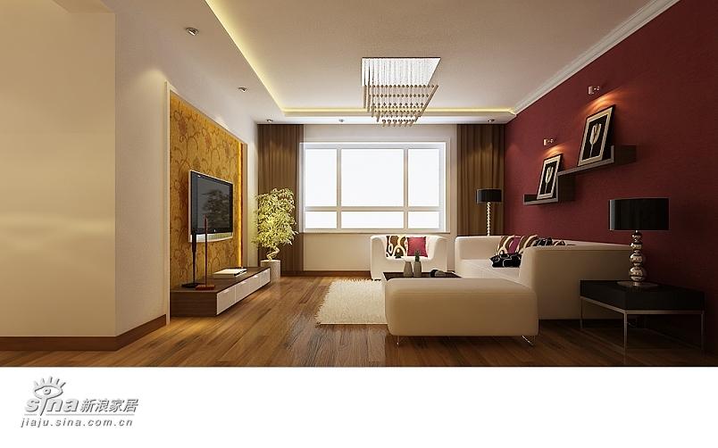 简约 三居 客厅图片来自用户2737759857在中景理想城98的分享