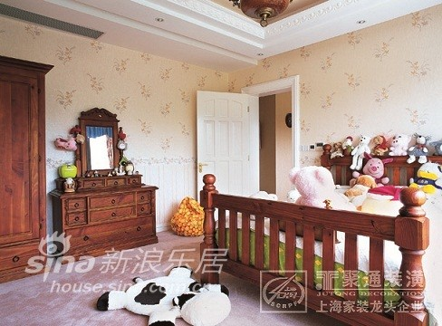 棕榈泉别墅欧式设计儿童房