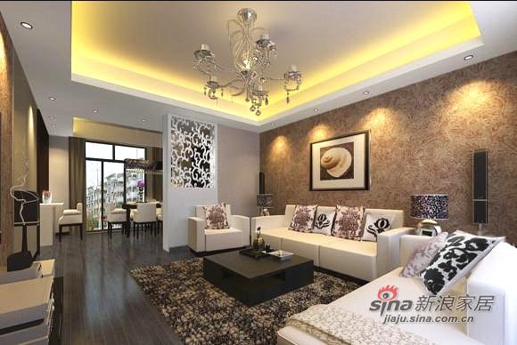 简约 一居 客厅图片来自用户2737759857在6.2万巧装95平现代简约家57的分享