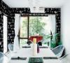 黑白空间+维多利亚桌布
