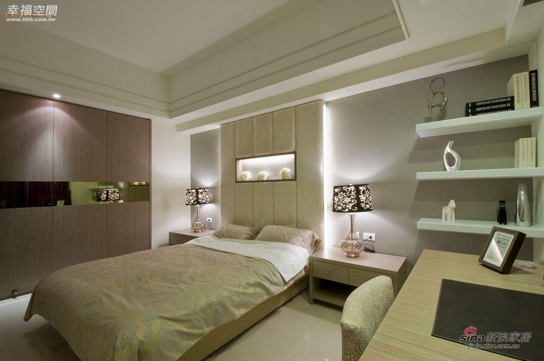 简约 四居 卧室图片来自幸福空间在264平三代同堂大气4居爱家35的分享