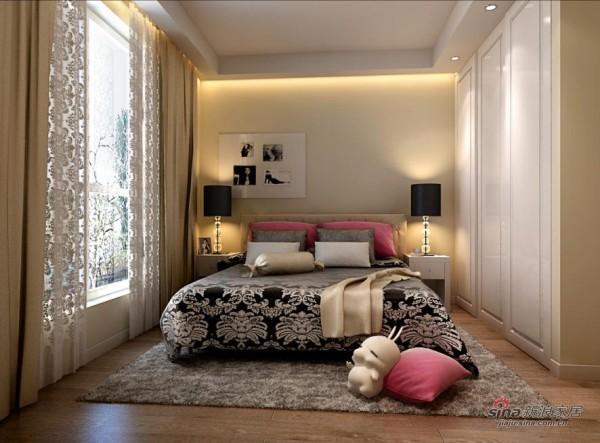 温馨浪漫卧室图