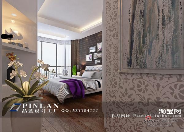 简约 四居 卧室图片来自用户2739153147在13万装132平《都市新宠》主题星城家装49的分享