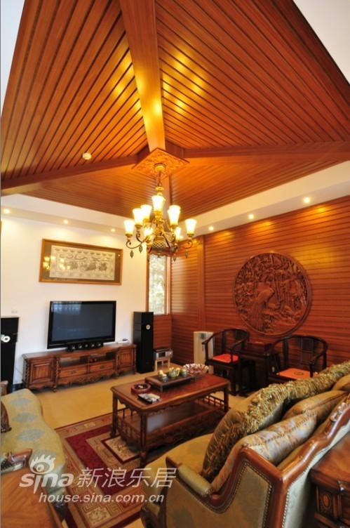 中式 别墅 客厅图片来自用户2737751153在中式韵味别墅15的分享