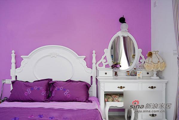简约 二居 卧室图片来自用户2739378857在8万营造90平2居韩式田园美宅66的分享