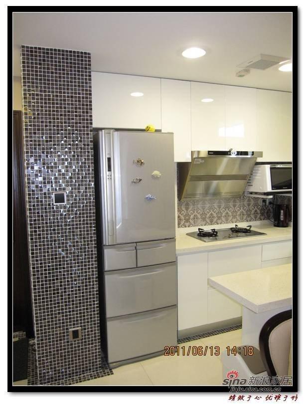 欧式 一居 厨房图片来自用户2746889121在37平小夫妻新古典一房一厅25的分享