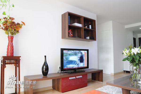 简约 二居 客厅图片来自用户2739081033在简约至上40的分享