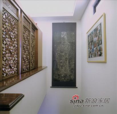 中式 跃层 客厅图片来自用户1907696363在神秘古风中式跃层爱居97的分享