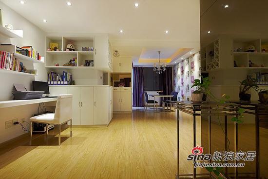 简约 二居 书房图片来自用户2559456651在6.8万打造98平两室一厅一温馨家76的分享