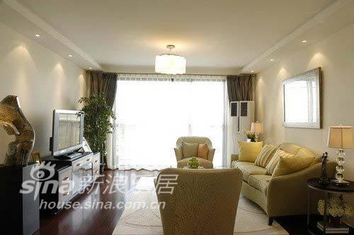 简约 二居 客厅图片来自用户2737735823在6万装120平简约富贵家45的分享