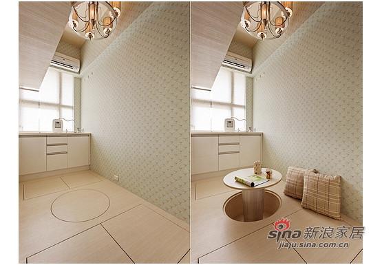 客房甚至厨房,为配合视觉比例