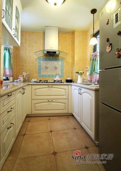 田园 三居 厨房图片来自用户2737791853在130平偏偏爱上你的美式田园家装53的分享