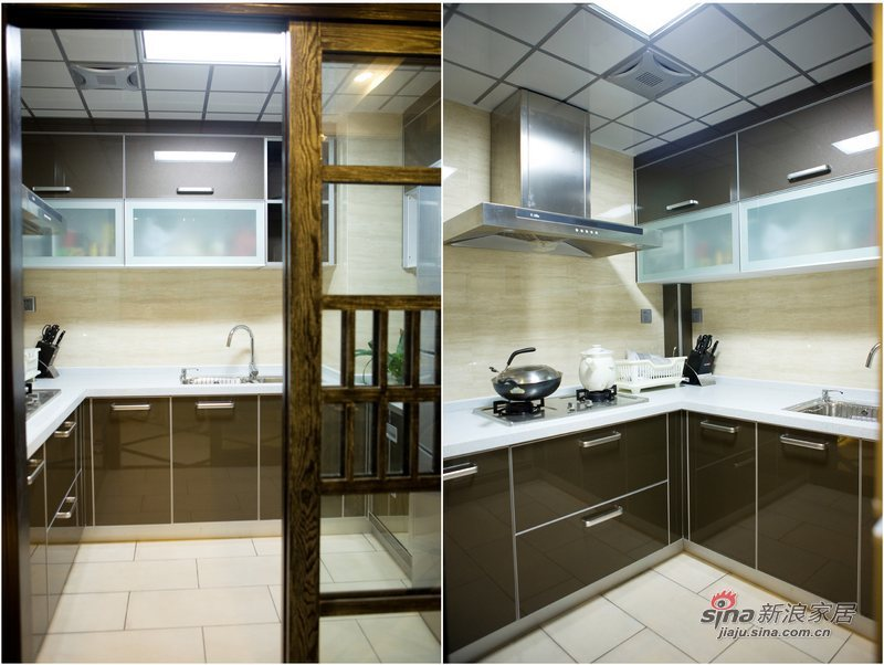 简约 三居 厨房图片来自用户2739081033在黑白印象87的分享