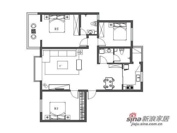 简约 三居 其他图片来自用户2737782783在7万打造130平米3居室清新简洁32的分享