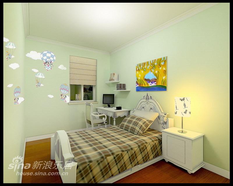 欧式 三居 儿童房图片来自用户2772856065在95平现代欧式温馨舒适四口之家97的分享