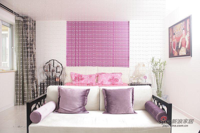 简约 一居 卧室图片来自用户2557010253在玫瑰绽放小一居35的分享