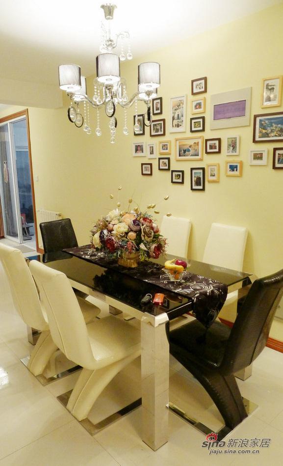 简约 二居 餐厅图片来自用户2737786973在孝顺女18万打造160平温馨房12的分享