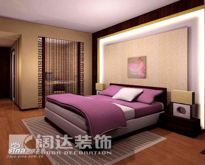 简约 一居 卧室图片来自用户2738820801在新中式64的分享