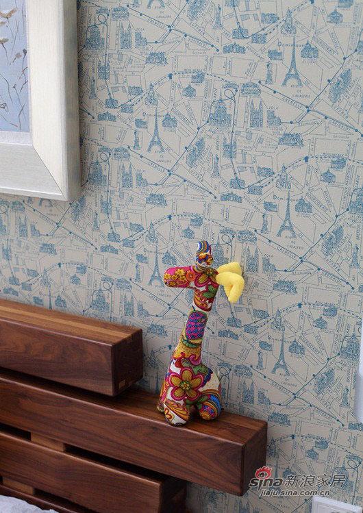 现代 三居 卧室图片来自佰辰生活装饰在8万打造102平现代休闲主义舒居20的分享
