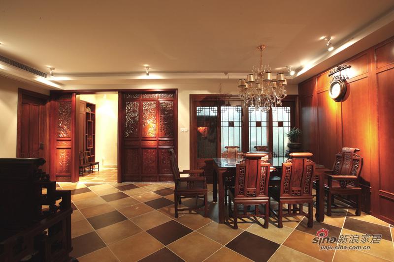 新古典 三居 客厅图片来自用户1907701233在220平简约中式高雅三居 传统文化的捕捉88的分享