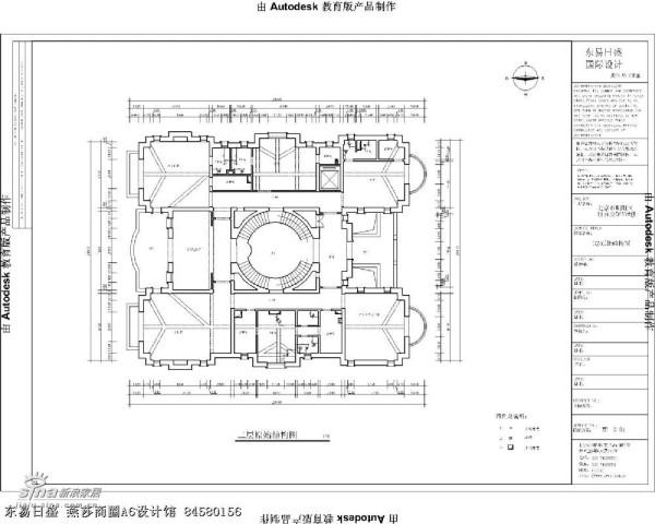 财富公馆原始结构图03