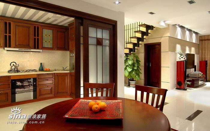 中式 别墅 厨房图片来自用户2740483635在现代中式风格作品47的分享