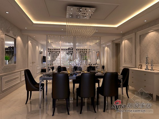 其他 别墅 餐厅图片来自用户2558757937在时尚混搭风尚样板间82的分享
