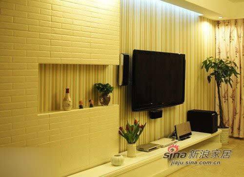 简约 二居 客厅图片来自用户2737735823在软装5万打造95平韩式美窝47的分享