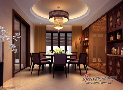中式 四居 餐厅图片来自用户1907696363在55万打造新中式风格92的分享