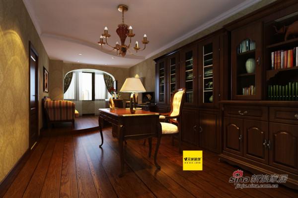 元洲装饰姜凤设计师打造200平米复式房屋
