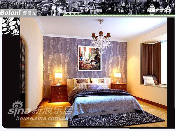 欧式 二居 卧室图片来自用户2557013183在稳重大气的简欧2居16的分享