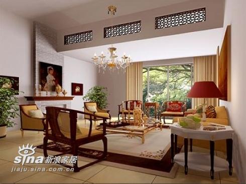 欧式 别墅 客厅图片来自用户2772856065在宁静的古典美48的分享