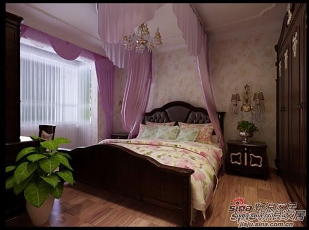欧式 三居 卧室图片来自用户2757317061在136平欧式古典家装风格,曲线诱人!69的分享