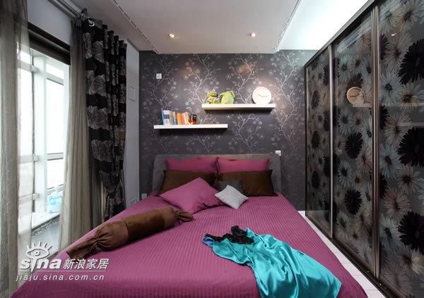 简约 一居 卧室图片来自用户2739153147在小两口低调装修21的分享