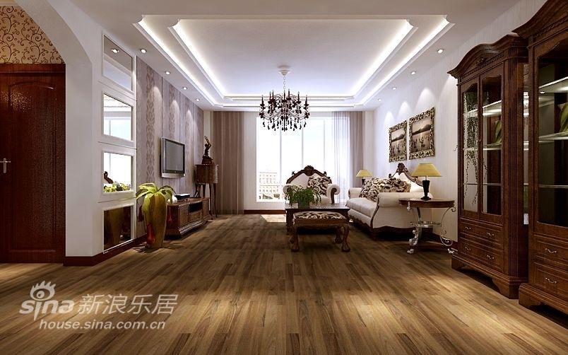 欧式 别墅 客厅图片来自用户2757317061在尊贵的典雅生活88的分享