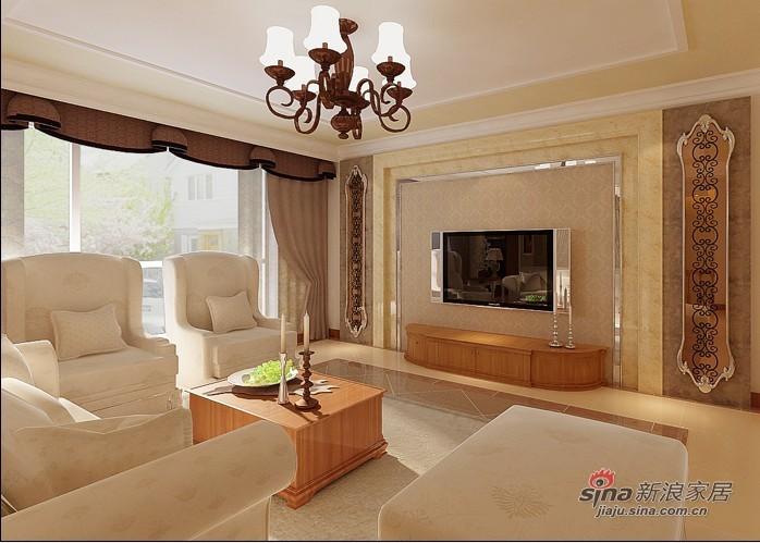 简约 一居 客厅图片来自用户2557010253在38万打造458平品味设计绝美家居71的分享