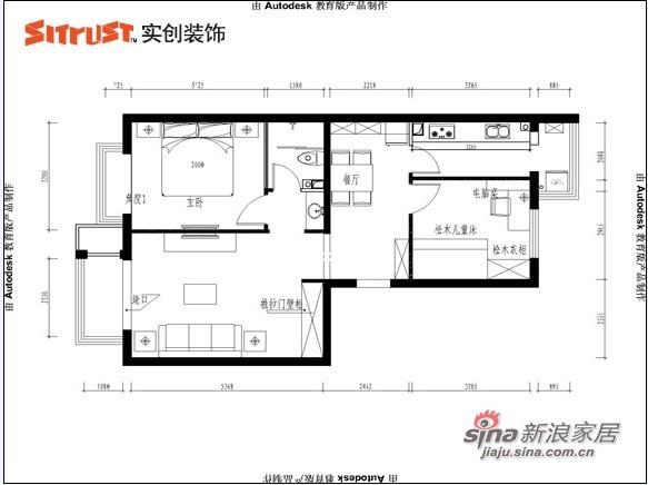 欧式 二居 客厅图片来自用户2746869241在简约+舒适打造欧式郦湖小区57的分享